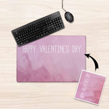 Custom Photo Table Pads Desk Mats Personalized Mouse Pad