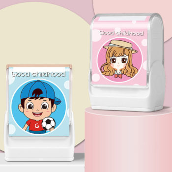 Self Inking Name Stamp Personalized Name Stamp for Books