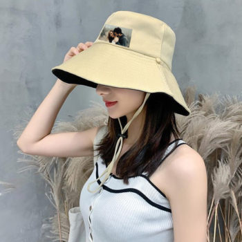 Custom Bucket Hat with Photo Personalized Fisherman Hat