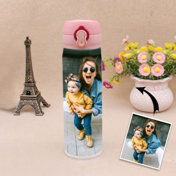 Custom Buckle Lid Thermal Water Bottle 500ml Personalized Insulated Bottle