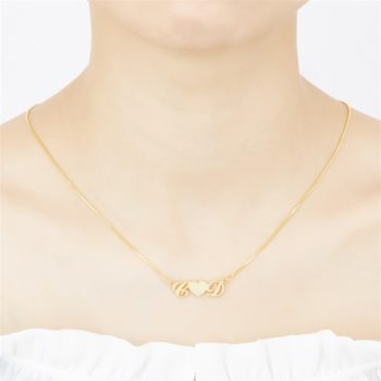 """C """"Heart"""" D Letter Name Necklace Personalized Initial Name Necklace"""