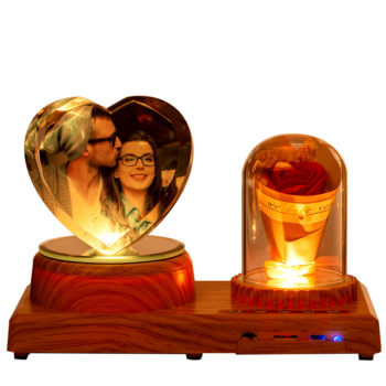 Bluetooth Music Playing Picture Frames Personalized Night Light