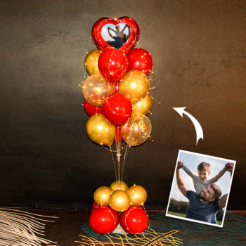 Personalized Balloons with Pictures Balloon Bouquet Pictures