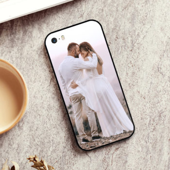 Customized iPhone SE Series Mobile Phone Case Personalized Glass & TPU Soft Phone Case