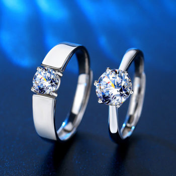 Custom Name Rings Personalized Moissanite Rings Anniversary Gifts